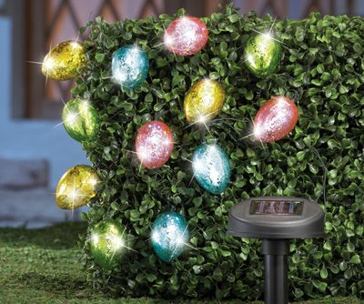Outdoor Easter Lights Outdoor easter string lights azcollab for solar easter egg string lights easter decorations pinterest solar string lights and led workwithnaturefo