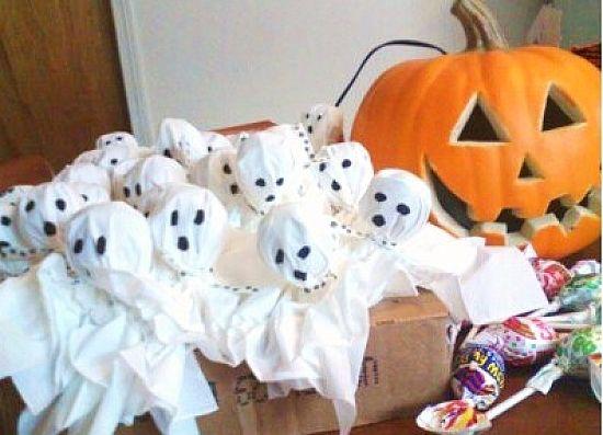 Lollipop ghosts - News - Bubblews