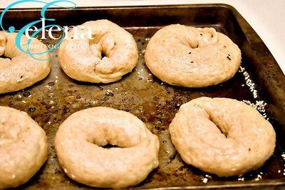 Whole wheat bagel, Bagel recipe and Bagels on Pinterest