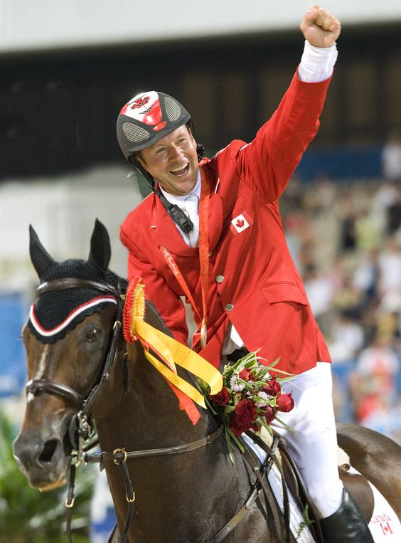 Just admit it... you would do Eric Lamaze. Btw RIP Hickstead. I'm still missing you gorgeous boy.
