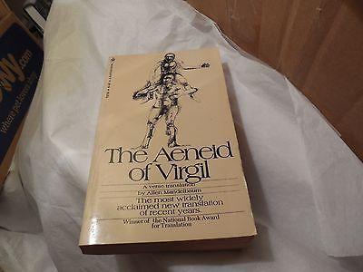 awesome The Aeneid of Virgil verse translation by Allen Mandelbaum paperback 1972 - For Sale