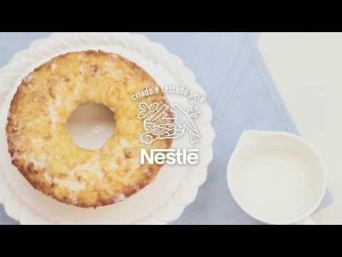 Bolo De Macaxeira Moca Receitas Nestle Youtube Em 2020 Com