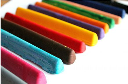 8 things to do w/ melted crayons!