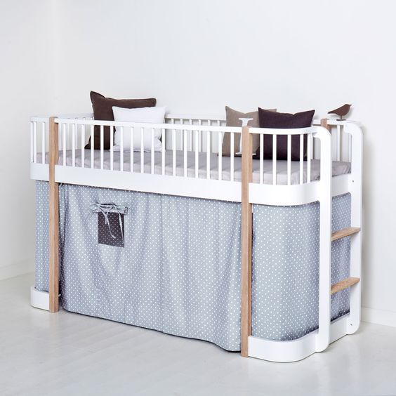 La cama elevada más elegante y chic para habitaciones infantiles ...