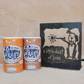 Puppy Dust - All-Natural Flavor Supplement - Sprinkle Onto Food To Get Them To Eat