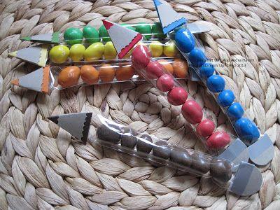 Stempelhimmel: Stifte zur Einschulung - Deko