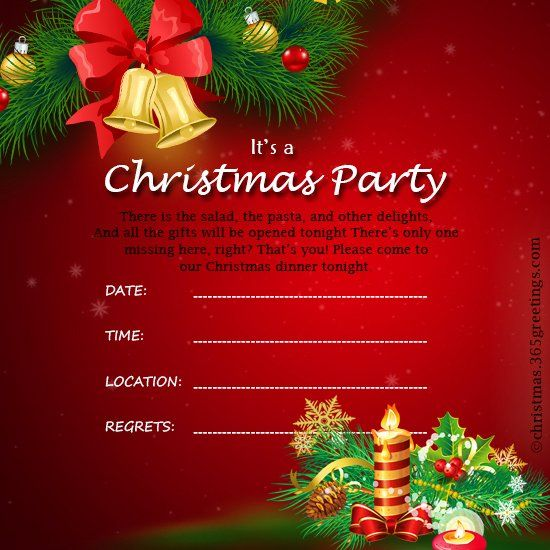 Christmas Party Invitation Free Template Beautiful Christmas Invitatio Christmas Party Invitation Template Christmas Invitations Template Party Invite Template