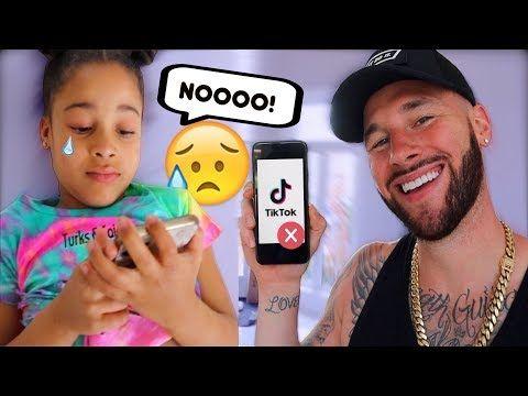 Deleted Your Tiktok Prank On 6 Year Old Intense Reaction Youtube 6 Year Old Pranks Intense