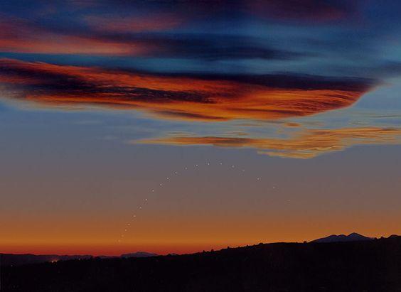 Mercurio al tramonto