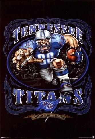 Tennessee Titans Team Logo Sheet Set