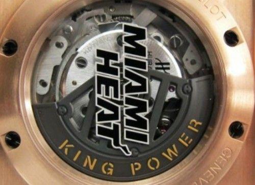 Um relógio exclusivo para o campeão da NBA 2012