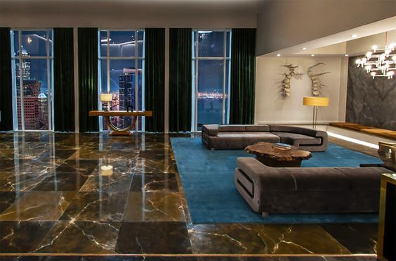 a look at the set design of christian grey\'s penthouse apartment ...