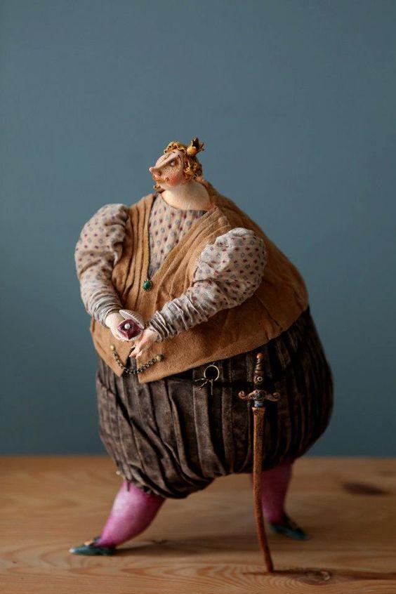 Необыкновенные куклы Кати. | Наслаждение творчеством