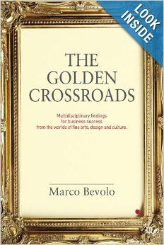 """A book that challenges the 'MBA paradigm', The Golden Crossroads sets potential new directions for business leaders and brand marketers. It does so by looking at the field of fine arts, design and culture as an alternative source of inspiration for ways to work. This book offers a mix of 38 qualitative and quantitative research-based findings to give inspiration by presenting ways of working and other """"secrets of the trade"""" from the world of fine arts and design."""