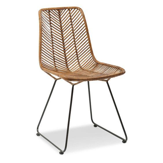 Kare Stuhl Ko Lanta - 4 Fuß Stühle - Stühle & Freischwinger - Esszimmer - Möbel