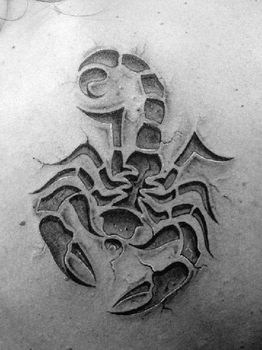 50 Tribal Scorpion Tattoo Designs For Men Manly Ink Ideas