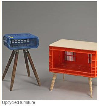 Upcycled Milk Crates Ideas For The Poor Uni Student D Pick Up The Legs From Old Furniture