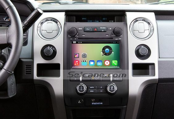 Oem 1024 600 Touchscreen 2009 2010 2011 2012 2013 2014 Ford F150 F250 F350 Expedition Radio Replacement With Android 4 Car Audio Systems Mirror Link Car Audio