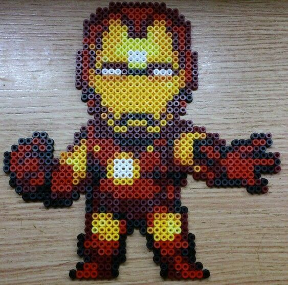 iron man iron on beads - Recherche Google
