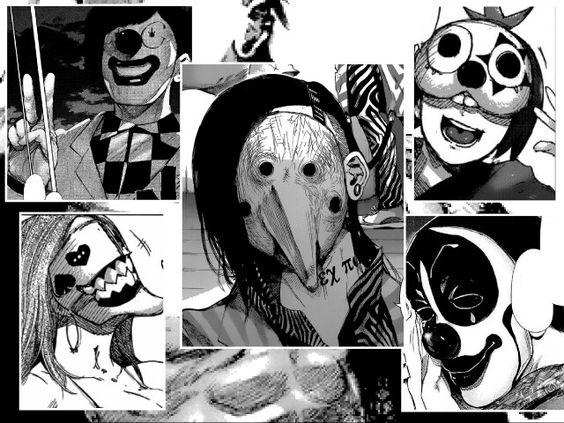 Tokyo ghoul - pierrots