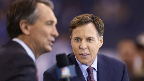 Bob Costas had some thoughts on Tom Brady's suspension during halftime on…