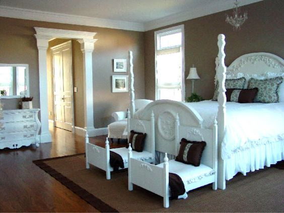 """classy bedroom even if this one is for a little """"big"""" girl:"""