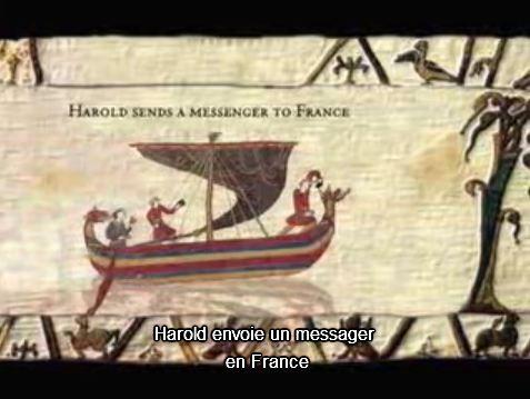 The animated bayeux tapestry mauvaise mais n anmoins int ressante version anim e de la - Tapisserie de bayeux animee ...