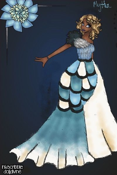 Blue Jay Couture by Mytherva ~ Neptune's Daughter Mermaid Dress Up