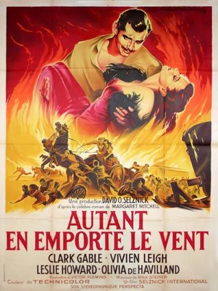Gone with the Wind Movie Poster - Love It, Have one framed in my home
