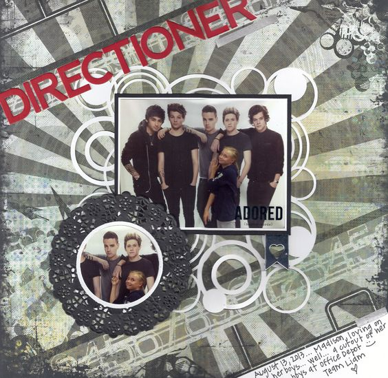 #layouts #papercrafts Directioner