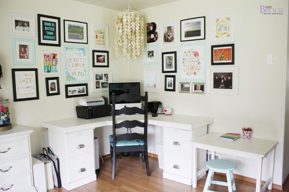 BeingBrook: Sewing & Craft Room Tour {Furniture}