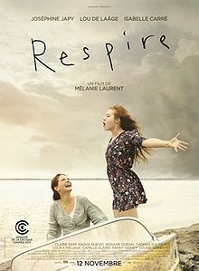 Respire (Breathe). France. Josephine Japy, Lou de Laage, Isabelle Carre, Claire Keim. Directed by Melanie Laurent. 2014