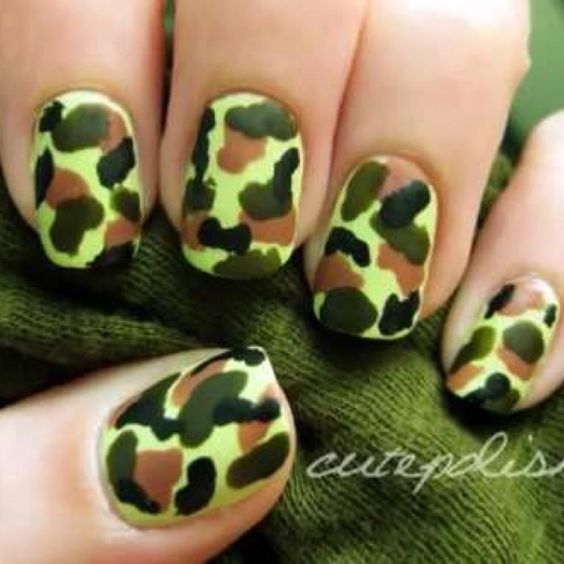 Camou nails
