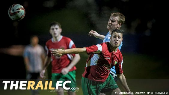 Simon Wood playing against Railway a couple of nights ago...    @therailfc @Liversedge_FC