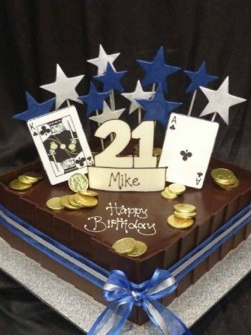 21st Cake Ideas For A Boy : birthday cake for 21st birthday for boy Cakes ...