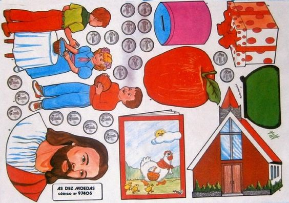 As dez moedas - Tia Helenita