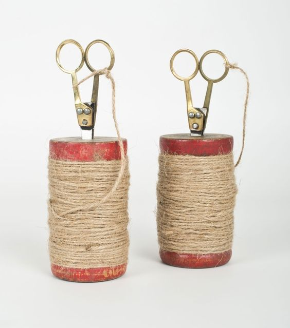 catbird::WHAT'S NEW: home & gifts::Jute Spool and Scissors