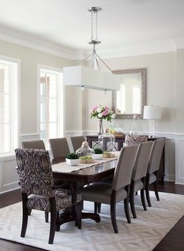 Dining Chairs  Casual elegance - traditional - Dining Room - Austin - Natalie Howe Design