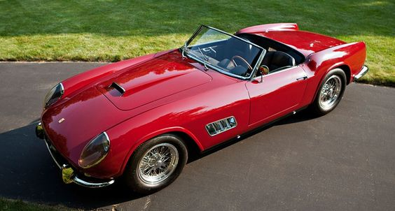 Live from the saleroom: World Record $11,275,000 for 1960 250 GT California Spider   Classic Driver Magazine