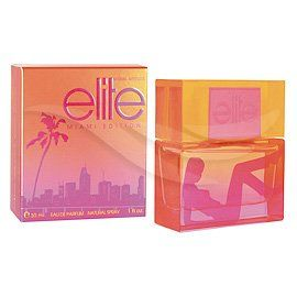 Elite Model Attitude Miami Edition 100ml/3.4 Fl.oz EAU De Parfum Spray. Elite Miami Edition was launched in 2008 and is a limited edition perfect for summer. Feel the pulse and the heat of Miami's hot beaches in Miami Elite Edition with tones of mango, hibiscus and tequila. A spicy touch of the glamour and style of Miami.