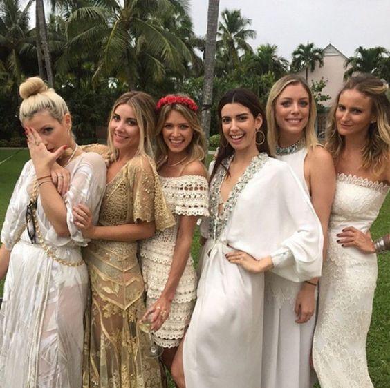 Mica Rocha reuniu um time de blogueiras em seu casamento nas Bahamas - vem ver!