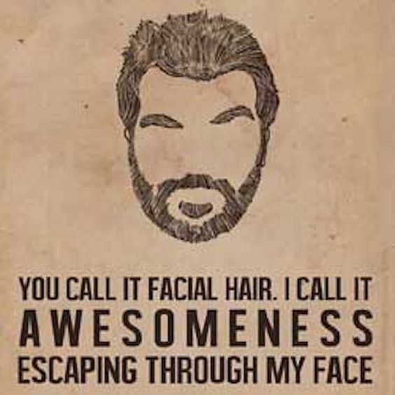 Don't be jealous because you don't have any awesome. Check out HighWest Beard…