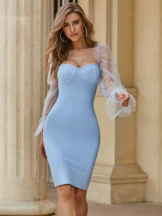 Modelo de Vestido Tubinho arrasar