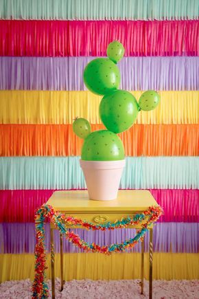 spacer 5 Mayo Cactus Balloon Craft