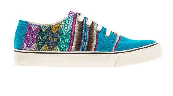 TURQUESA MIPACHA Shoes - Handmade in South America Peru - Aztec shoes - Tribal   http://www.mipacha.com/