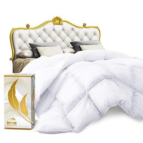 Cocoon Luxury Real Organic California King Down Comforter King