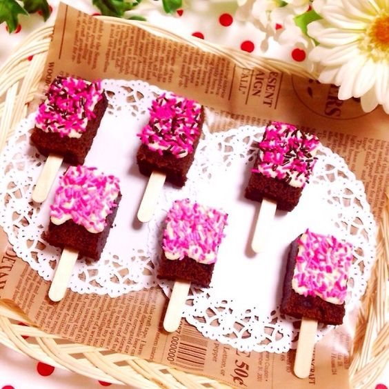 ice pop brownie
