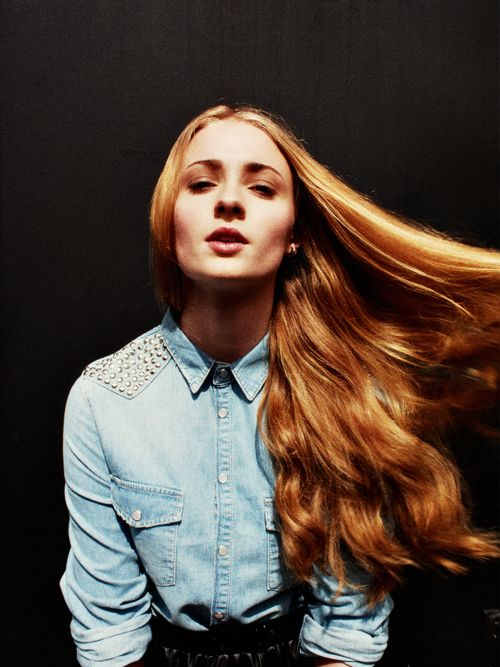 Sophie Turner. I've been told by a few people that she is my doppelgänger. I will definitely take that as a compliment.