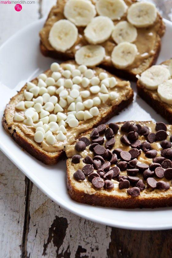 Chocolate Peanut Butter Banana Paninis   #recipe on MarlaMeridith.com ( @marlameridith )