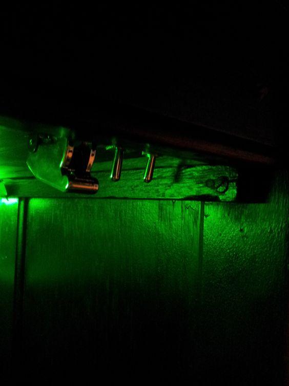 Secret Switches under the desk???